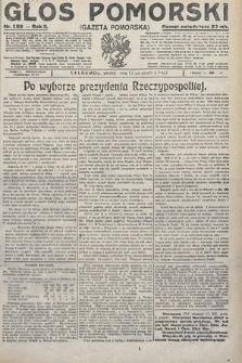 Głos Pomorski. 1922, nr289