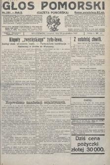 Głos Pomorski. 1922, nr291