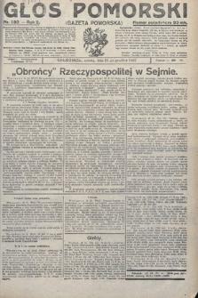 Głos Pomorski. 1922, nr293