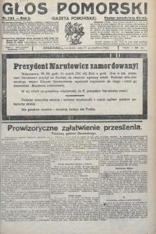 Głos Pomorski. 1922, nr294