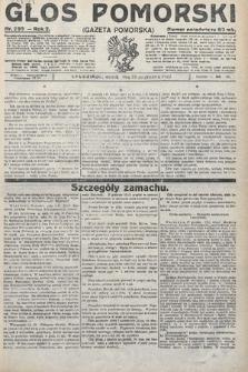 Głos Pomorski. 1922, nr295