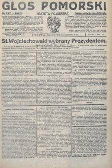 Głos Pomorski. 1922, nr297