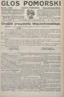 Głos Pomorski. 1922, nr298