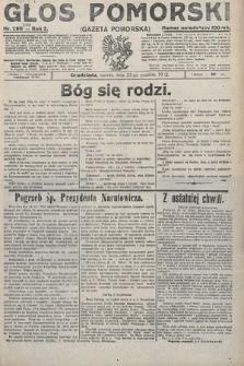 Głos Pomorski. 1922, nr299