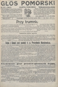 Głos Pomorski. 1922, nr300