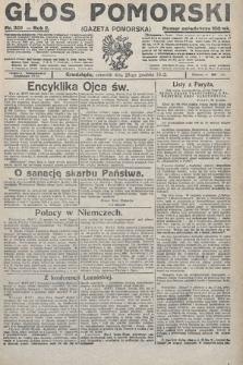 Głos Pomorski. 1922, nr301