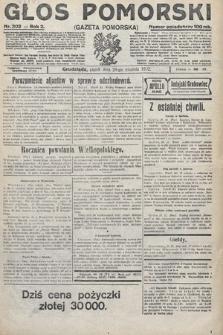 Głos Pomorski. 1922, nr302