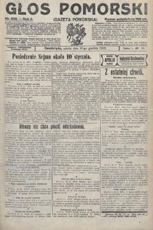 Głos Pomorski. 1922, nr303