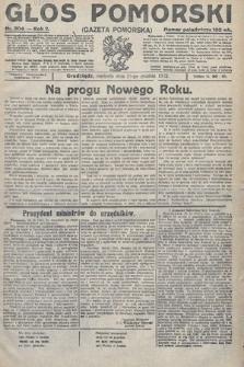 Głos Pomorski. 1922, nr304
