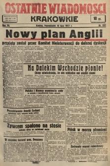 Ostatnie Wiadomości Krakowskie. 1937, nr198