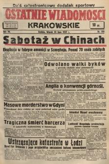 Ostatnie Wiadomości Krakowskie. 1937, nr199