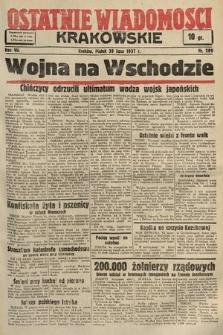 Ostatnie Wiadomości Krakowskie. 1937, nr209
