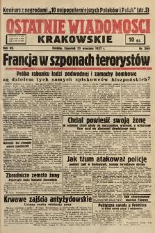Ostatnie Wiadomości Krakowskie. 1937, nr264