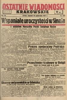 Ostatnie Wiadomości Krakowskie. 1937, nr299