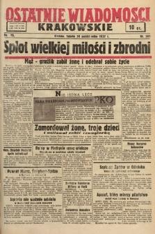 Ostatnie Wiadomości Krakowskie. 1937, nr301