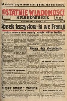 Ostatnie Wiadomości Krakowskie. 1937, nr324