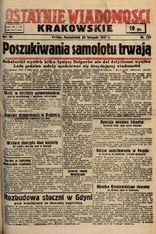 Ostatnie Wiadomości Krakowskie. 1937, nr331