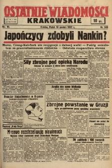 Ostatnie Wiadomości Krakowskie. 1937, nr342