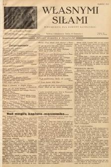 Własnymi Siłami : miesięcznik dla kobiety katolickiej. 1938, nr3