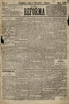Nowa Reforma. 1886, nr1