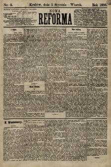 Nowa Reforma. 1886, nr3