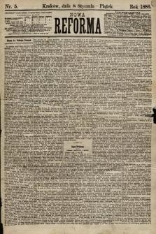 Nowa Reforma. 1886, nr5