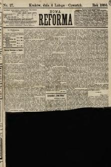 Nowa Reforma. 1886, nr27