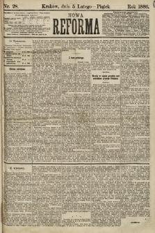 Nowa Reforma. 1886, nr28