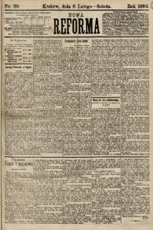 Nowa Reforma. 1886, nr29