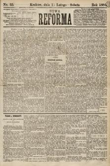 Nowa Reforma. 1886, nr35