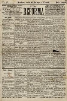 Nowa Reforma. 1886, nr37