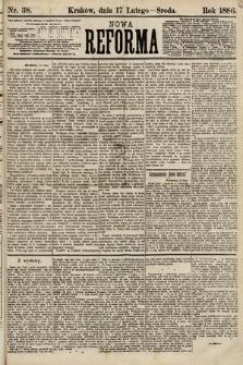 Nowa Reforma. 1886, nr38