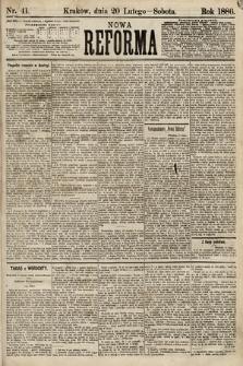 Nowa Reforma. 1886, nr41