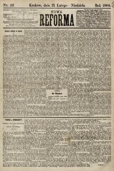Nowa Reforma. 1886, nr42