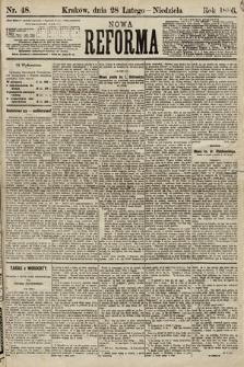 Nowa Reforma. 1886, nr48