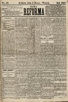Nowa Reforma. 1886, nr49
