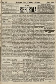 Nowa Reforma. 1886, nr53