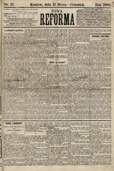 Nowa Reforma. 1886, nr57