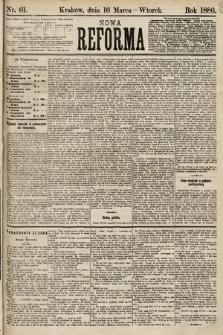 Nowa Reforma. 1886, nr61