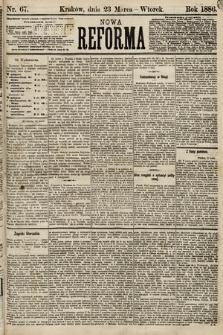 Nowa Reforma. 1886, nr67