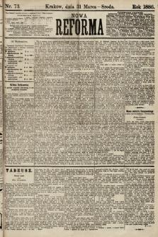 Nowa Reforma. 1886, nr73