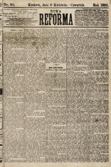 Nowa Reforma. 1886, nr80
