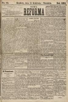 Nowa Reforma. 1886, nr83