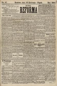 Nowa Reforma. 1886, nr87