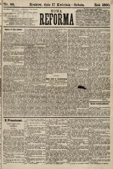 Nowa Reforma. 1886, nr88