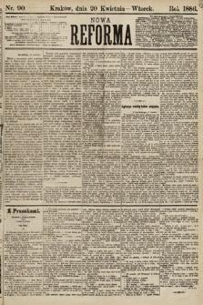 Nowa Reforma. 1886, nr90
