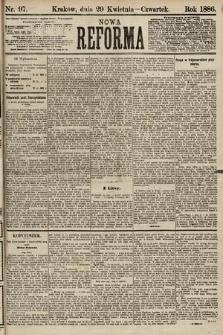 Nowa Reforma. 1886, nr97