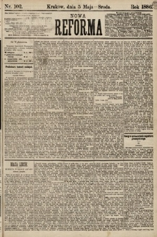 Nowa Reforma. 1886, nr102
