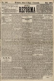 Nowa Reforma. 1886, nr103