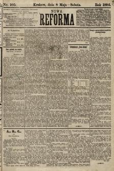 Nowa Reforma. 1886, nr105